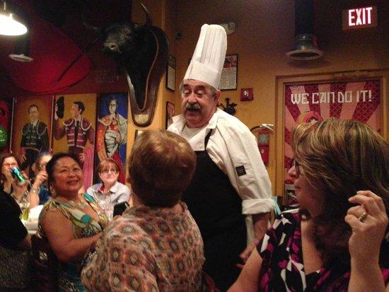 Jamon Iberico Pata Negra Restaurant: Chef Felipe