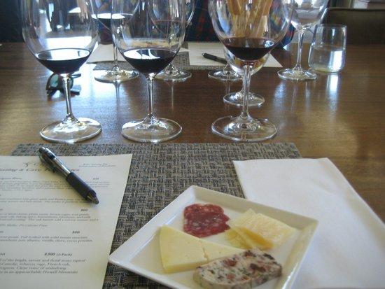 CADE Winery: Tasting