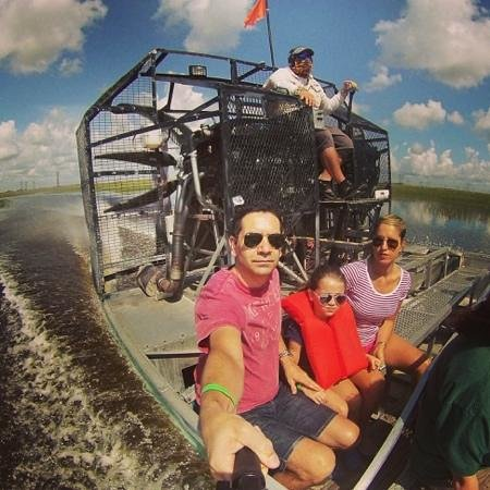 Sawgrass Recreation Park: Air boat ride