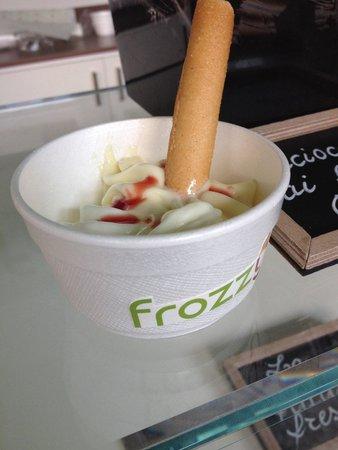 Frozzy: Yogurt vaniglia e cocco