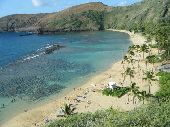 Hanauma Bay Nature Preserve: the bay