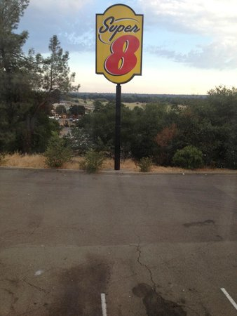 Super 8 Redding: View of I-5 from my room.