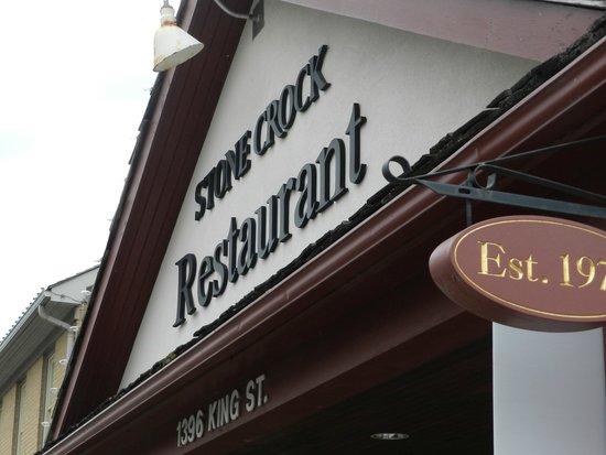 Stone Crock : Great food, and wonderful service