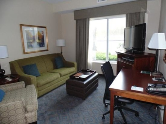 Homewood Suites Gainesville: Living Room