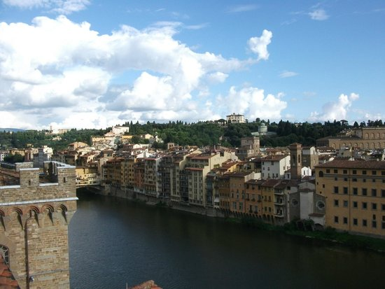 Antica Torre di Via Tornabuoni: Panorama dalla terrazza sull'Arno