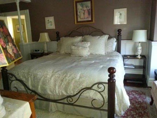 Haydon Street Inn B & B: Rose Room - King Room