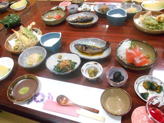 Rokan Kiraku: 禧楽 夕食