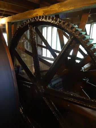 The Upper Mill: Drive gears