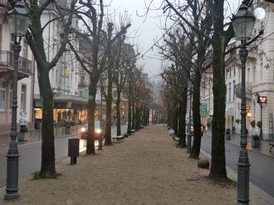 Faberge Museum: Улица,где расположен музей