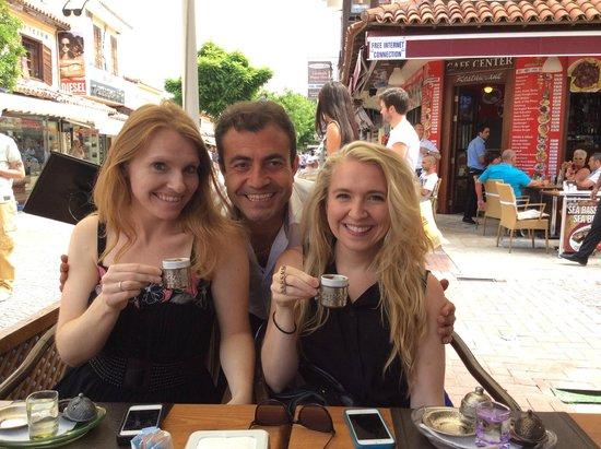 Dedem K. Restaurant: Turkish coffee time!