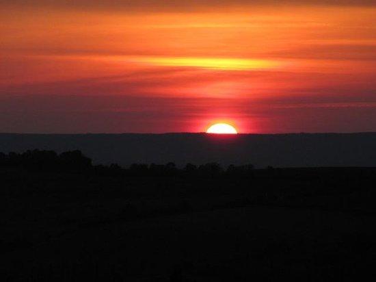 Luckett Vineyards: Enjoy the sunset over the valley!
