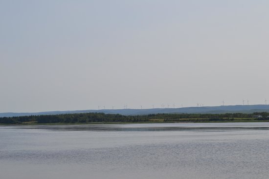 Caribou/Munroes Island Provincial Park: looking back from the point as we walked the beach