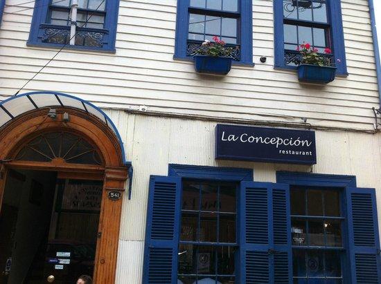 Restaurant La Concepcion: Fachada del Lugar