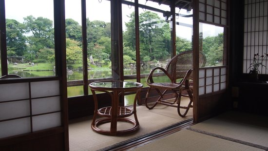 Hakkeitei: Enjoy the view and relax