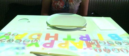Inamo Soho : Happy Birthday pattern at just £20