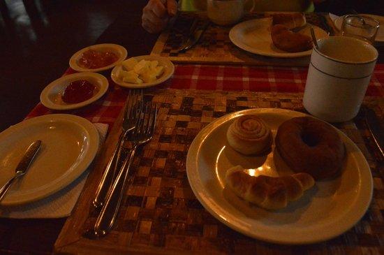 Kirurumu Manyara Lodge : Desayuno