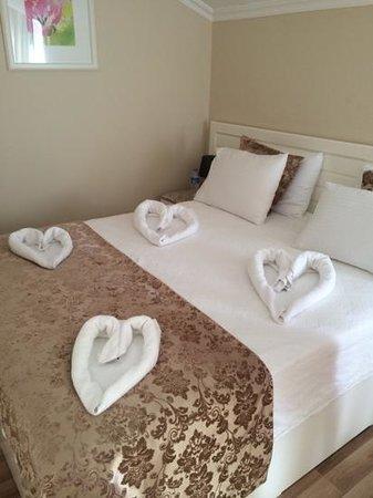 Unsal Hotel: Towel art!