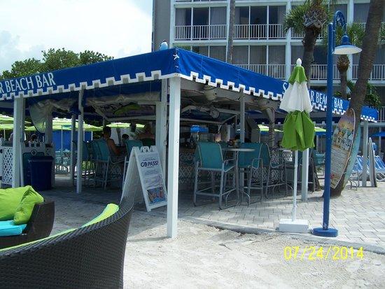 Guy Harvey Outpost, a TradeWinds Beach Resort: Sandbox Pool Bar