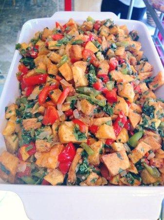 Wassouf Lounge: Spicy potatoes