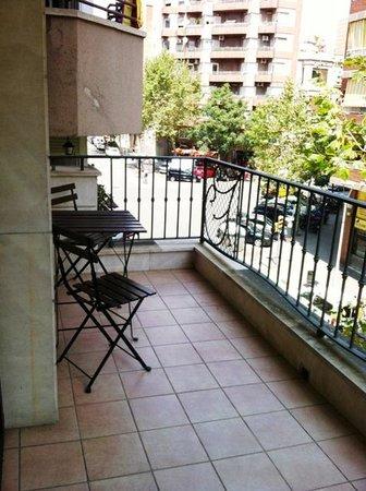 Hispanos 7 Suiza: Balcony