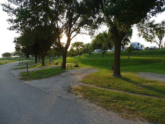 Lake Anita State park: Campsites