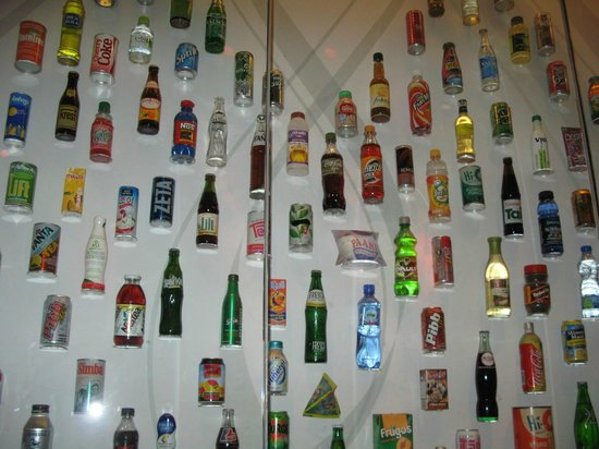 World of Coca-Cola: Who knew how many products produced?!