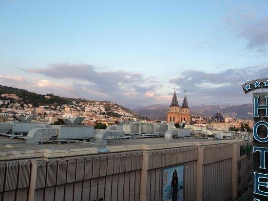Hotel Carmen Granada: Vista de Granada desde habitación
