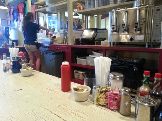 Big Bad Breakfast: The counter
