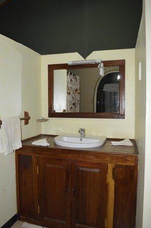 Kirurumu Tarangire Lodge: Lavabo