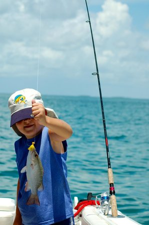 Easy Day Charters: fishing heaven for my son
