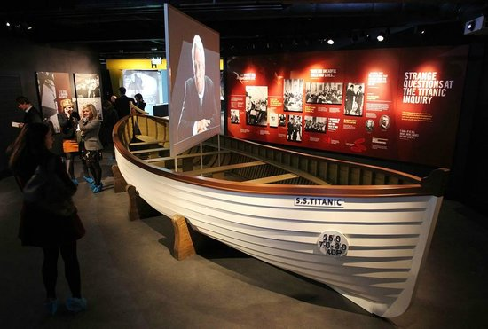 The Lifeboat Replica In The Museum Very Nice Picture Of