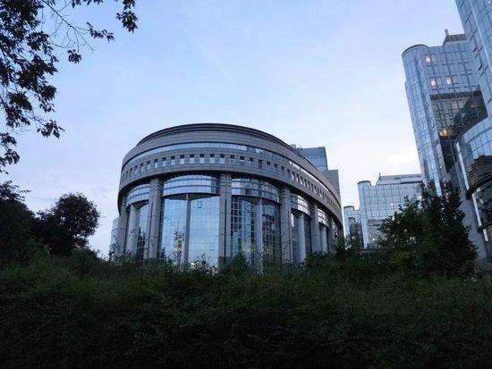 Parlamentarium: Centro de visitas del Parlamento Europeo: Parlamento