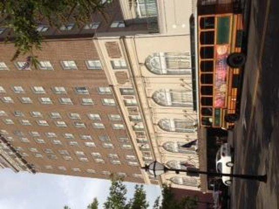 Francis Marion Hotel: Taken from the park opposite