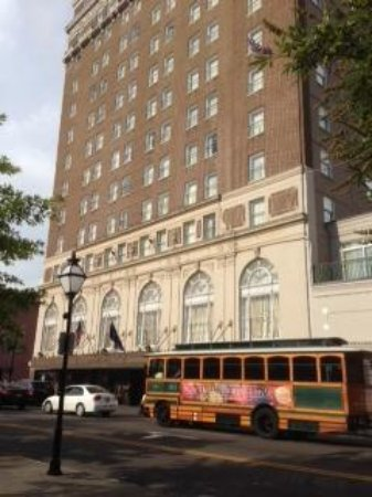 Francis Marion Hotel: Taken from the park opposite