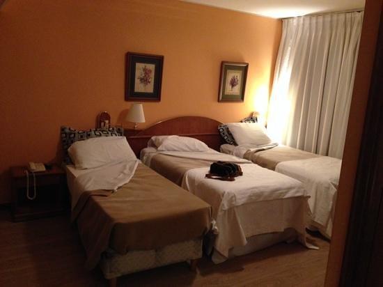 Hotel Remanso: Habitacion doble convertida en triple