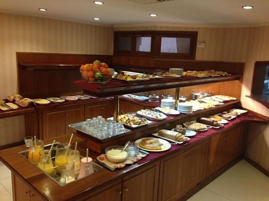 Hotel Remanso: desayuno Bufete