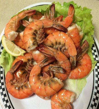 Woods Place: Boiled Shrimp!