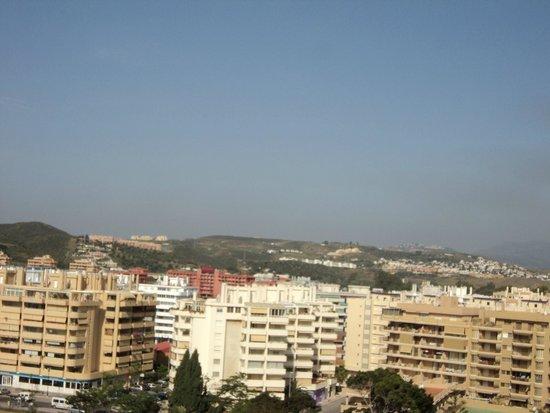 Hotel Las Piramides: Vista panorámica desde la habitación