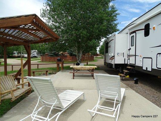 KOA Campground: Campsite