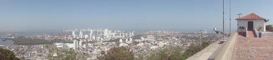 Convento La Popa de la Galera : Vista panoramica da cidade