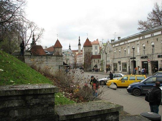 Viru Square: вход в Таллин)