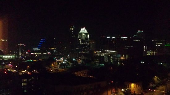 Sheraton Austin at the Capitol: View by night.