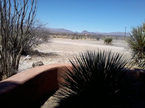 Marathon Motel: View from one of the cabins