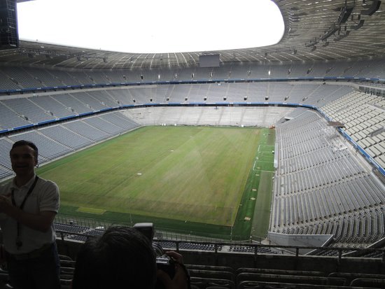 Allianz Arena: from the upper level