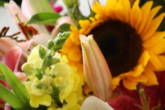 Pike Place Market: $10 for large bouquets of flowers!