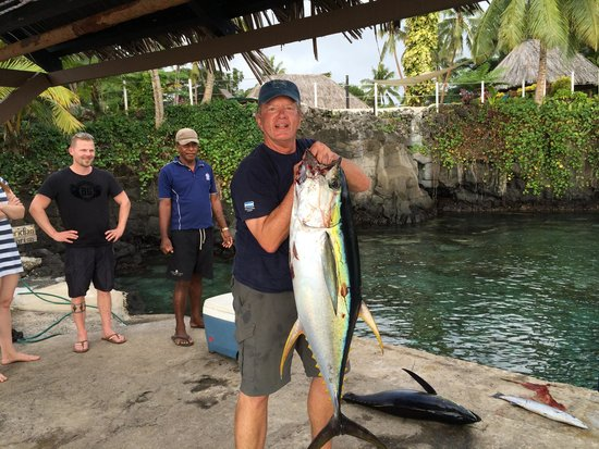 Paradise Taveuni: You can do a little fising in Paradise