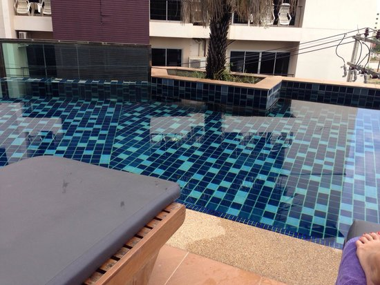 Andakira Hotel : Pool access from room on level 3