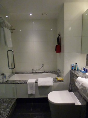 Park Plaza County Hall London: bath/shower