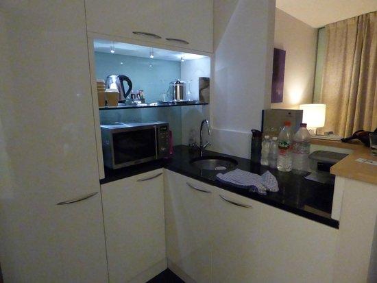 Park Plaza County Hall London : kitchen area