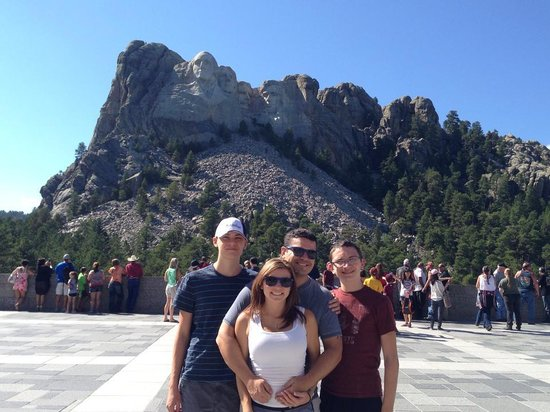 Mount Rushmore National Memorial: My Family